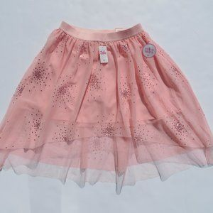 Justice Skirt TU-TU build shorts 14/16 Peach NEW